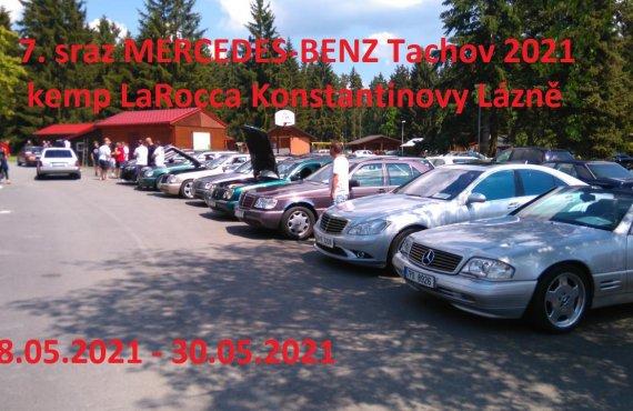 7. sraz MERCEDES-BENZ Tachov 2021