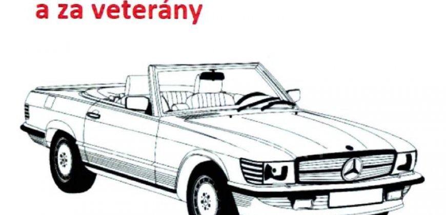Mercedesem okolo Tachova a za veterány