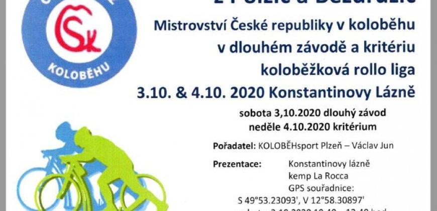 Velká cena Kryštofa Haranta z Polžic a Bezdružic - Mistrovství České republiky v koloběhu